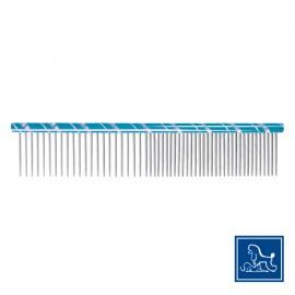 """Idealdog """"Star"""" steel comb blue"""