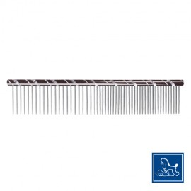 "Doogy ""Star"" steel comb black"