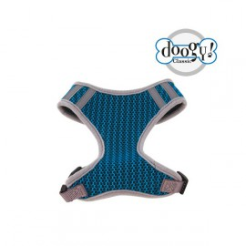 Tshirt harness mesh blue