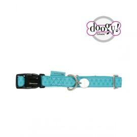 Mc leather dog collars - blue