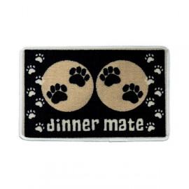 Dinner mat black