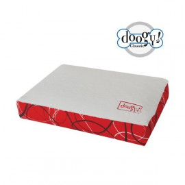 Doogy Padded Mat Holly Red