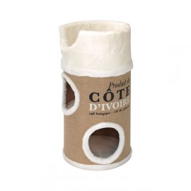 Cat tree cote d'Ivoire cream