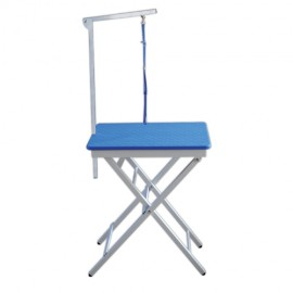 2 positions folding grooming table