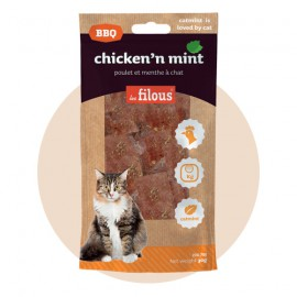 Chicken and cat mint