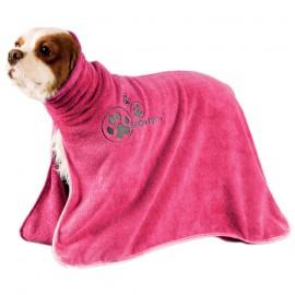 Microfiber bathrobe - Pink