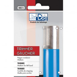 Idealdog medium blue trimmer for left hand