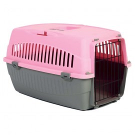 Pink Messager 1 Travel Cage