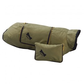Raincoats Pocket System Kaki and Black