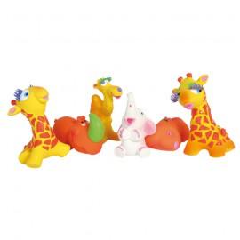 "Set of 24 latex Toys ""Savannah"""