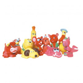 Set of 48 latex Toys Medium Size