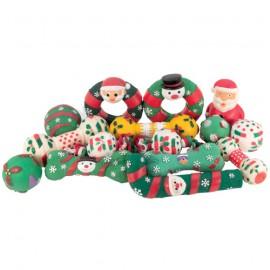 Set of 15 Christmas Toys