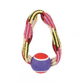 Rope Toy Tennis Ring