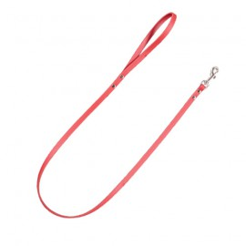 Amazone Leather Leashes Red