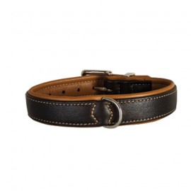 Leather Collar Black