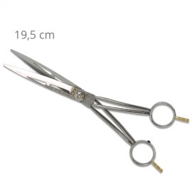 Meteor II grooming curved scissors standard branches 19cm