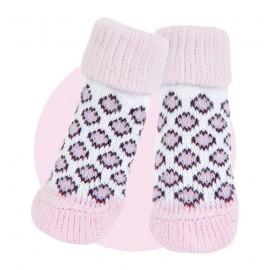 Pink Puppia Socks