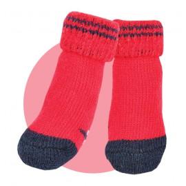 Red Puppia Socks