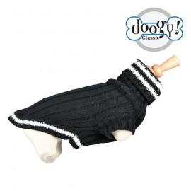 Black Tennis Fantasy Sweater