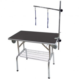 Single arm folidng table without wheels
