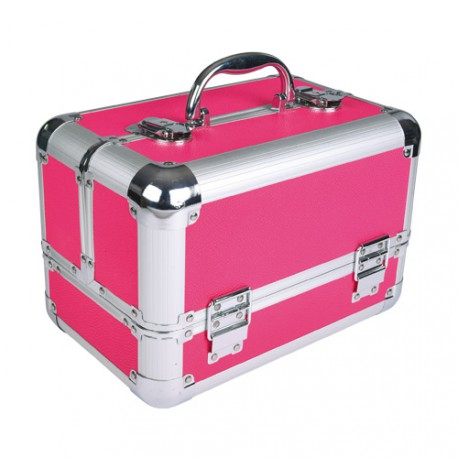 Pink Grooming Transport Case