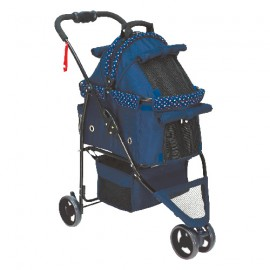 DARK BLUE STROLLER CITADINE FOR DOGS UNDER 15GS