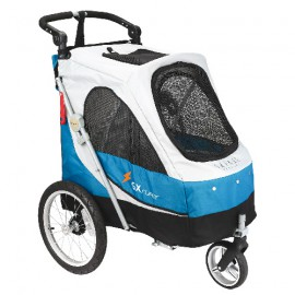 STROLLER AVENTURA BLUE FOR DOGS UNDER 30KG