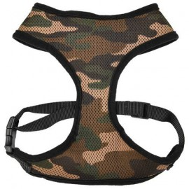 Air mesh harness camouflage