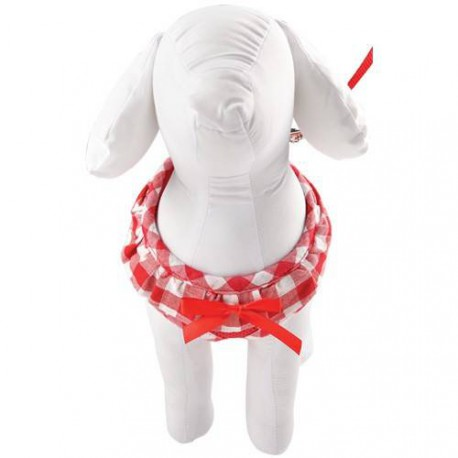 Air mesh Vichy harness
