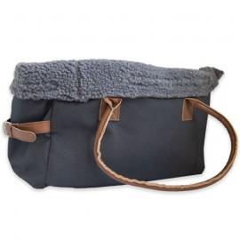 """Grey bag """"Loulou"""""""
