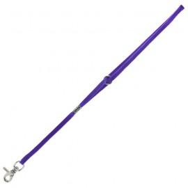 Purple neck grooming strap