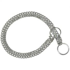 Double strangler collar