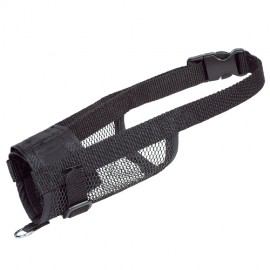Nylon muzzle for dogs