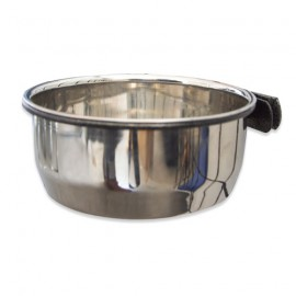 STAINLESS STEEL BOWL WITH SUPPORT