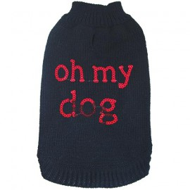 FANCY SWEATER – OH MY DOG – BLACK