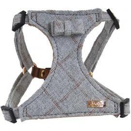 Denim harness Grey