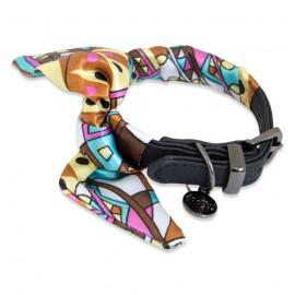 Balck collar scarf