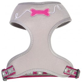 Dog t-shirt harness Kyrielle raspberry