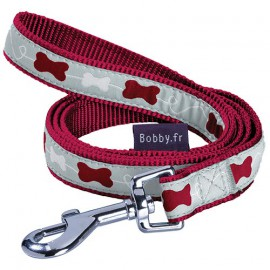 Dog lead Kyrielle raspberry