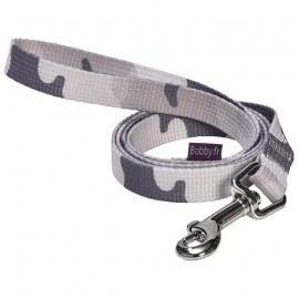 Dog lead easy camouflage grey