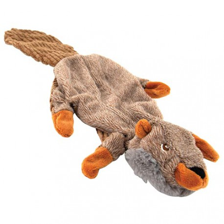 Dog plush - Sound flat beaver