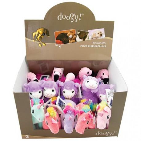 Box of 15 mini mixed stuffed toys