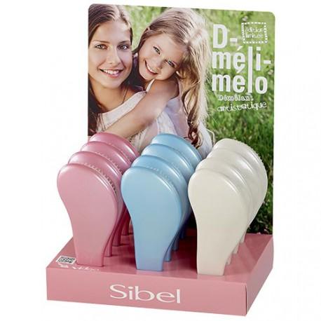 """Display of """"pastellic"""" mini d meli-melo brushes"""