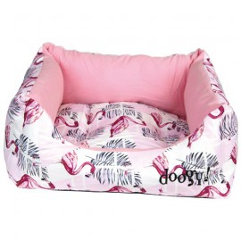 Pink Flamingo padded sofas