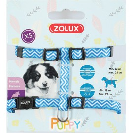 Puppy pixie harness blue