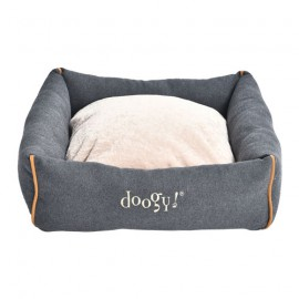 Denim snuggle bed