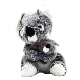KOALA AND HIS BABY PLUSH 23CM