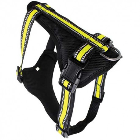 Doogy Sport Harness Yellow