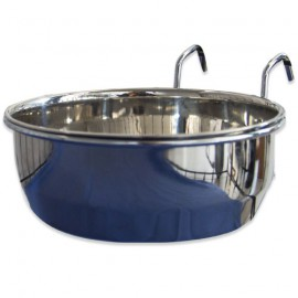 STAINLESS STEEL BOWL WITH HOOK SUPPORT