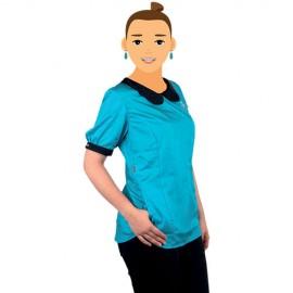 Tikima Alicia Shirt Turquoise